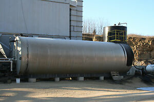 image is loading 20000 gallon liquid asphalt cement storage tank
