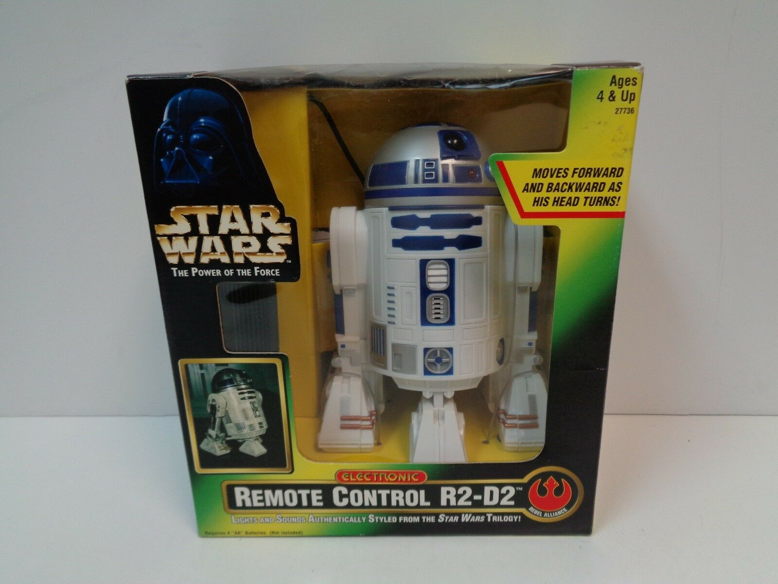 Star Wars ELECTRONIC REMOTE CONTROL R2-D2 The Power of the Force MOC