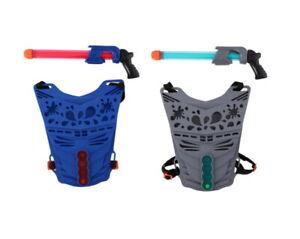 Water Gun Shield Game Pistol Outdoor Shoot Blaster Soaker Kids Toy Garden Game