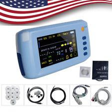 Handheld Lcd Touch Screen Icu Ccu Patient Monitor 6 Parameter Portable Cardiac A