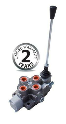 """Bucher Hydraulic 1//2 /""""70 L//MIN A Bank Double-acting lever valve 3"""