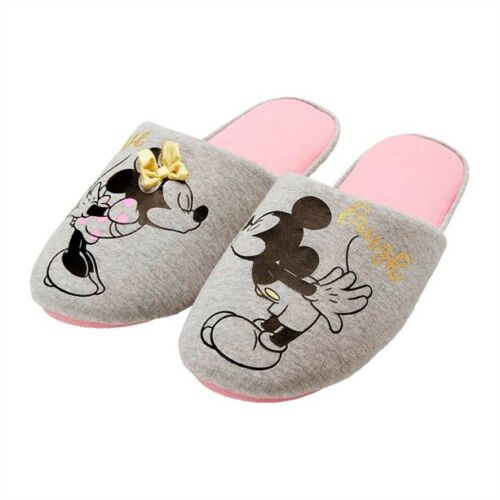 5//6 and 7//8 Avon Disney Mickey Mouse and Minnie Anniversary Slippers sizes 3//4
