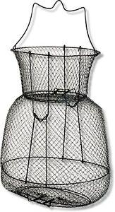 Draht-Setzkescher oval stehend oder rund Aalsetzkescher//Heringskescher 2 Sorten