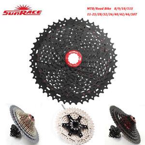 Sunrace-MTB-Carretera-Bicicleta-8-9-10-11-Velocidades-Bicicleta-Cassette-Shimano-SRAM-Compatible
