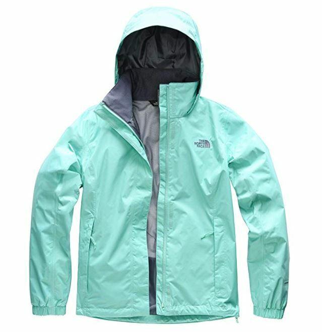 66d954b8f The North Face Women's Resolve 2 Jacket Mint Purple Size Medium USED