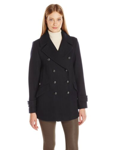 Peacoat Size 10 Black Women's Connection Military French XqBwZtOO