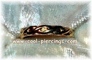 !!super Sexy Zehenring 12 Karat Gold Filled Braid!!