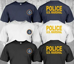 NEW-Police-US-Marshal-United-States-Military-Special-Force-Department-T-Shirt