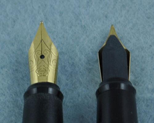 Vintage Hero 59 Fountain Pen Fine Nib Made in 1990s Golden