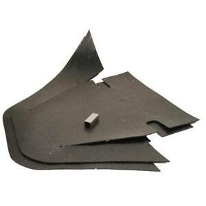 69-75 Corvette Backing Plate Dust Shields ALL 4 GM