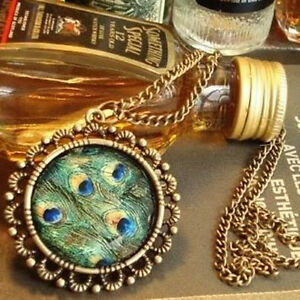 Betsy-J-Inspired-Brass-Peacock-Feather-Pendant-Chain-Synchronous-Gift
