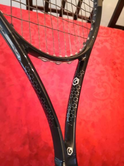 Raro ProjoOTIPO DE Head Graphene Velocidad Velocidad Velocidad Mp 16x19 4 1 4 Todo Negro Tenis Raqueta 224dca