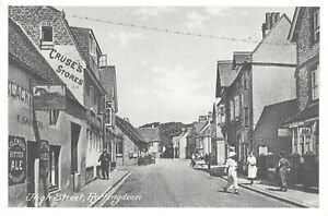 Vintage-Reproduction-Postcard-High-Street-Rottingdean-Sussex-DO9