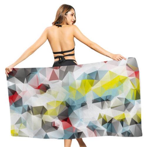 Microfiber Fabric Beach TowelsSoft Quick Dry Large Lightweight Bath Towels