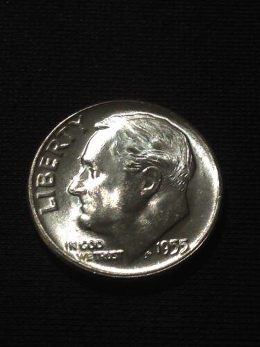 1955 10c Roosevelt Dime Choice BU Gem Mint State Quality Coins #070619