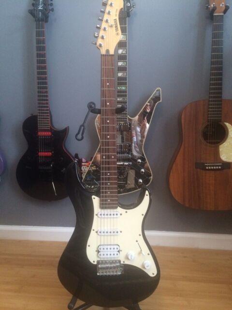 yamaha eg 112c strat style solid body electric guitar ebay. Black Bedroom Furniture Sets. Home Design Ideas