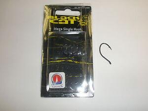 BARBO-Negro-Mega-Individual-Ganchos-SZ6-0-Paquete-de-4-Catfish-equipo-de-pesca