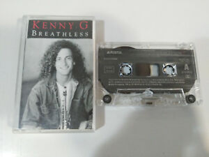 KENNY-G-BREATHLESS-ARISTA-1992-SPAIN-EDITION-CINTA-TAPE-CASSETTE