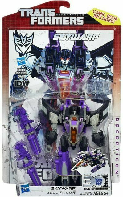 IDW Comic; MOSC New 2013 Hasbro Transformers Generations Deluxe THUNDERCRACKER