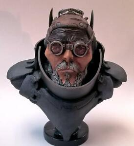 Wasteland-Dieselpunk-Inspired-Hero-Schlager-Man-Unpainted-Resin-Mini-Bust