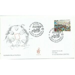 2001-FDC-Venetia-1116-It-Giornata-Of-Philately-Viaggiata-MF43607