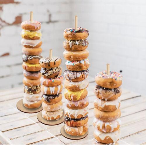 DIY Donut Wall Stand Doughnut Rack Wedding Birthday Party Decoration Kid Favor