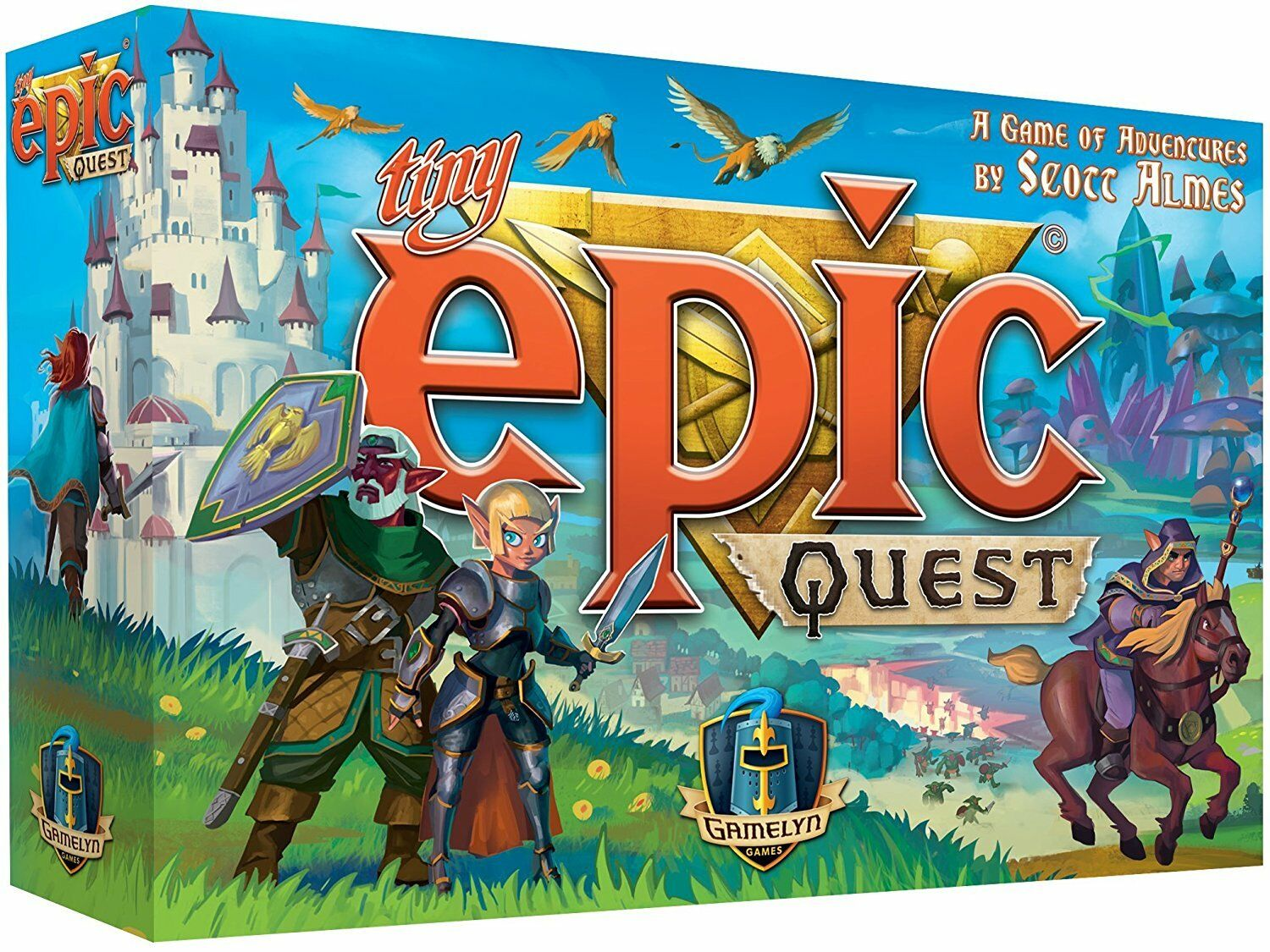 Tiny Epic Quest by Gamelyn Games