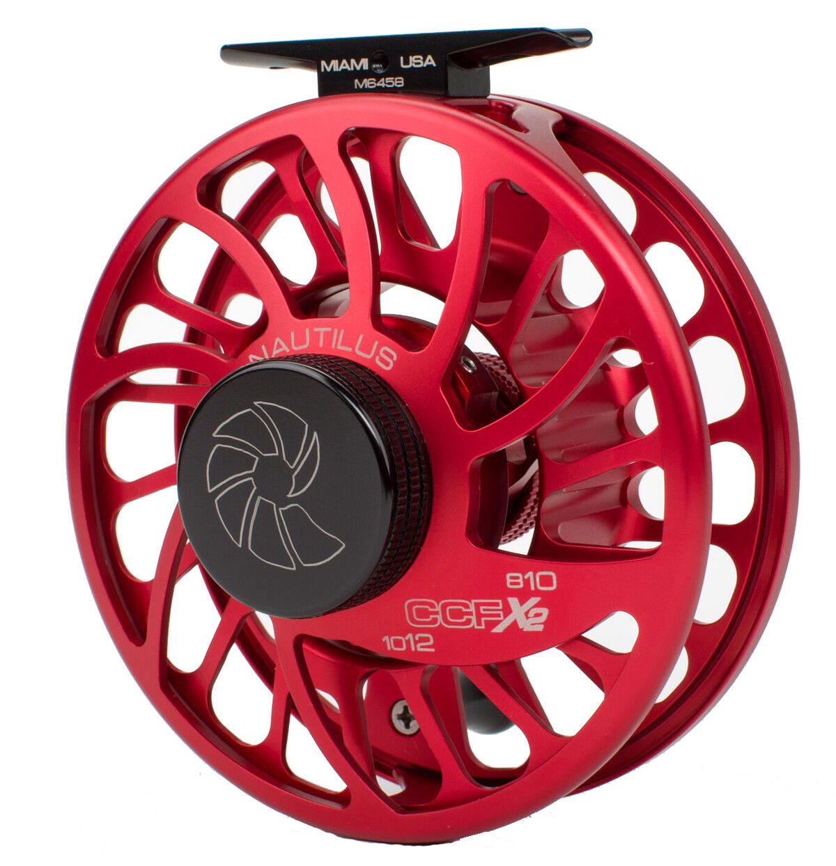 Nautilus CCF-X2 8 10 Fly Fishing Reel - Red (8-10 WT) NEW  - Free US Ship