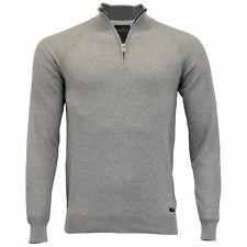 c9f6d2cccba55c item 3 Mens Jumper Threadbare Knitted Cotton Sweater Half Zip Pullover Top  Winter New -Mens Jumper Threadbare Knitted Cotton Sweater Half Zip Pullover  Top ...