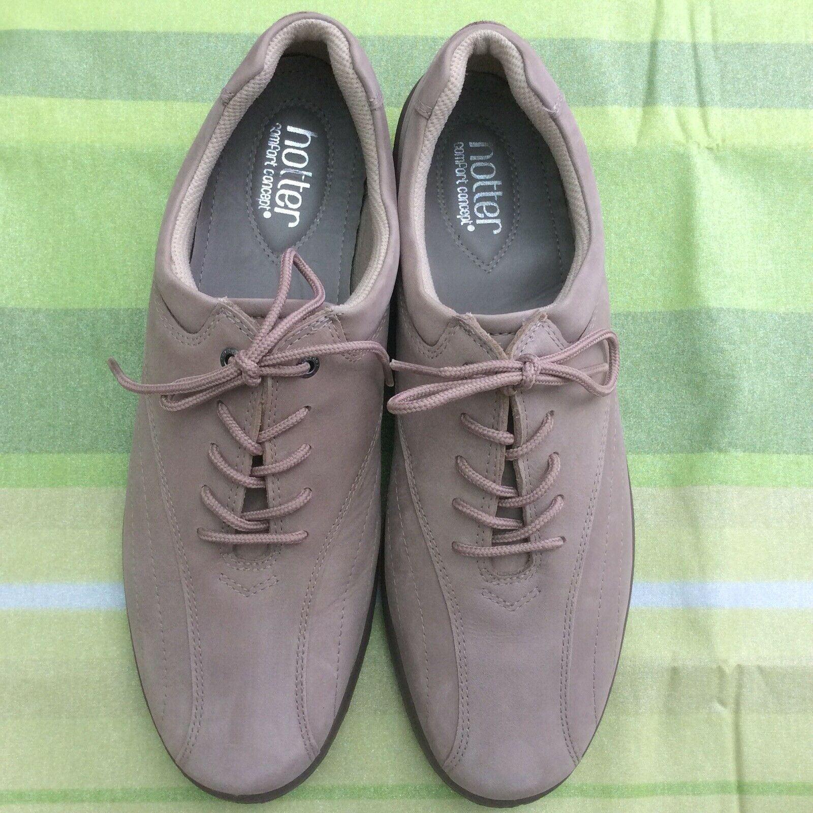 Brand New Hotter Comfort Concept Lace Up Nubuck Leather Shoes Uk 4 Cheapest Price From Our Site Women's Shoes