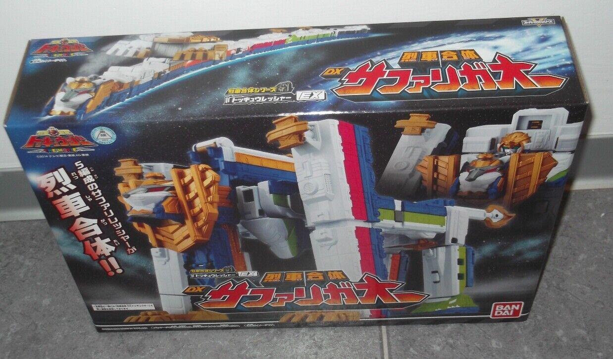 BeAI Dx Tokkyuger ToQger Safari Ga-oh energia Rangers Megazord  Sentai  bellissimo