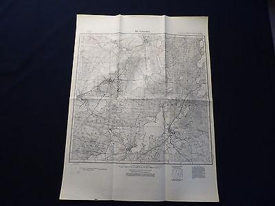 100% QualitäT Landkarte Meßtischblatt 3849 Alt Schadow, Neuendorf, Kehrigk, Bugk, Von 1945 GüNstigster Preis Von Unserer Website
