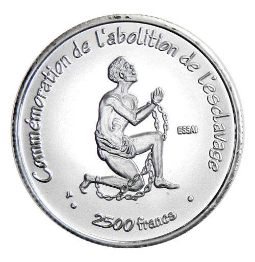 IVORY COAST (COTE D'IVOIRE): silver 2500 francs, 2007, Pattern ESSAI, bu