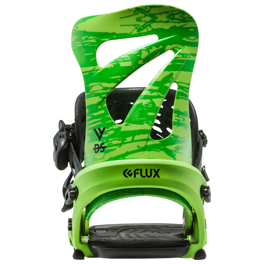 Flux DS   2016 2017 Model   Green   Sz M   Brand New Snowboard Bindings
