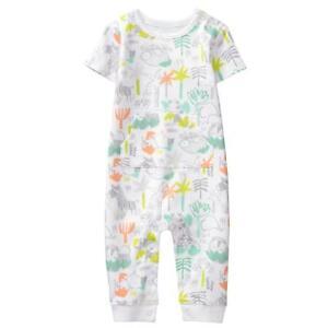 NWT Gymboree Little Farm Romper Baby Boy Newborn Essential NB 0-3-6-12-18