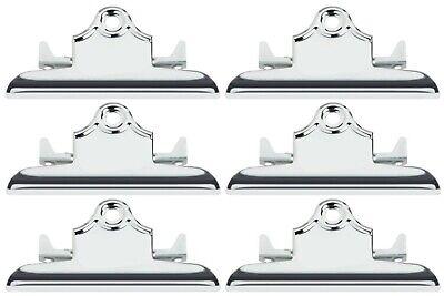 Bulk Pack of 72 Business Source Clipboard Metal Clip Bundle wi... 6 Inch Wide