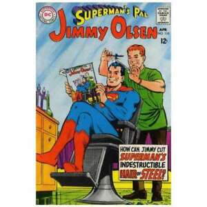Superman-039-s-Pal-Jimmy-Olsen-1954-series-110-in-F-minus-cond-DC-comics-b1