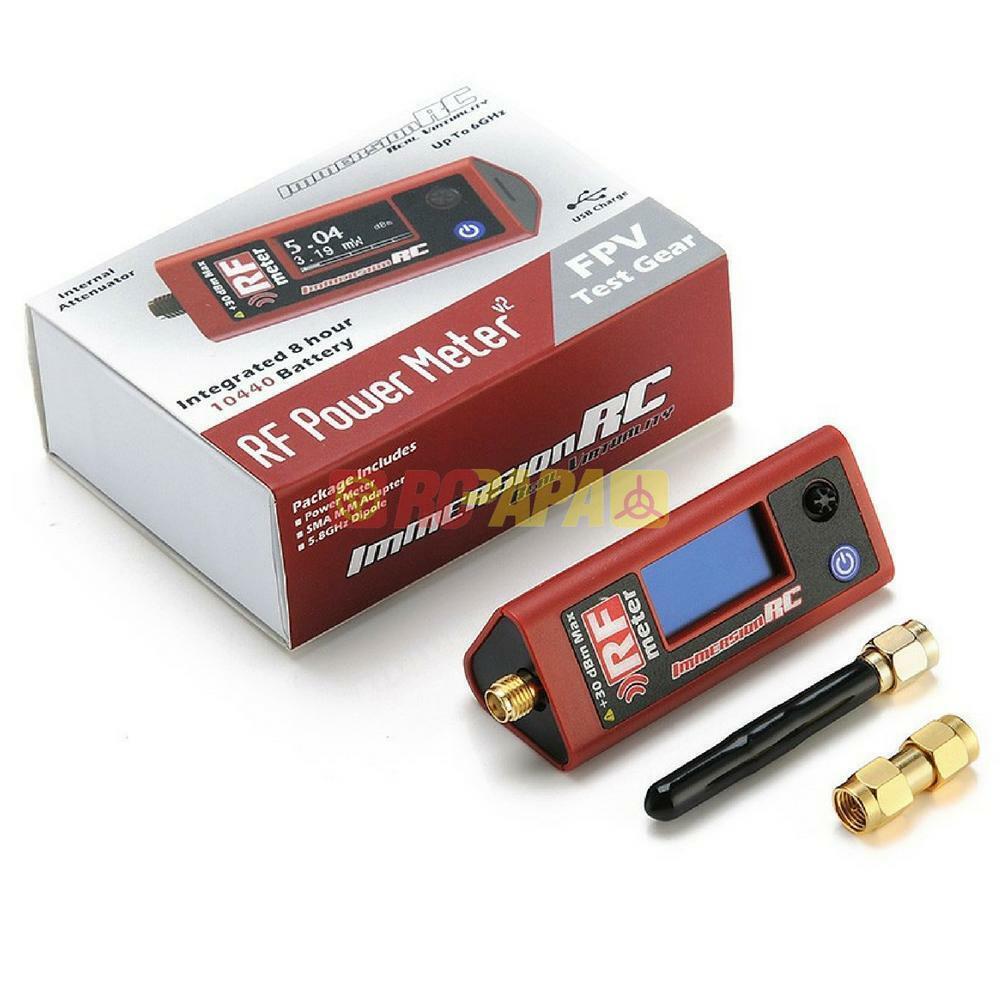ImmersionRC RF  energia Meter V2 for FPV Drone Race gratuito-Style 1pc nuovo  economico e di alta qualità