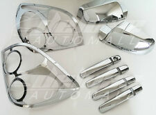 Chrome Package: Tail Light Trims, Door Handle - Mirror Covers FITS Chevy Equinox