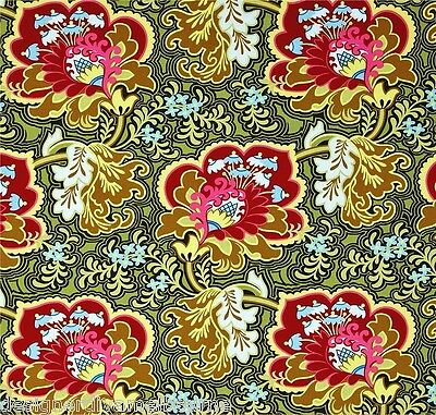 """BELLE Gothic Rose """"Burgundy"""" by Amy Butler* 100% cotton quilting fabric"""
