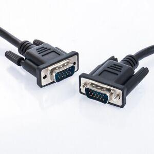 5m-VGA-Kabel-fuer-PC-TFT-LCD-CRT-HD-Monitor-TV-Beamer-Bildschirm-fuenf-Meter