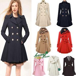 Womens-Winter-Warm-Parka-Overcoat-Trench-Coat-Flared-Long-Jacket-Outwear-Tops