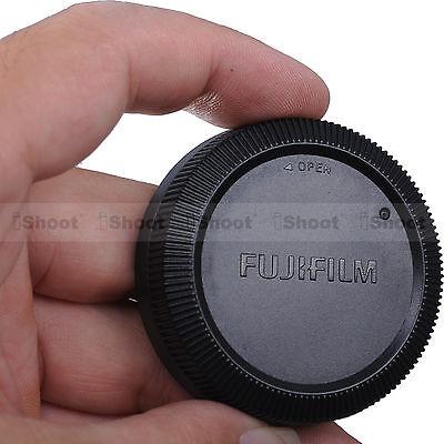 Rear Lens Cap Cover for Fuji Fujifilm Micro SLR X-Mount Camera Lens XF 56 / 1.2R