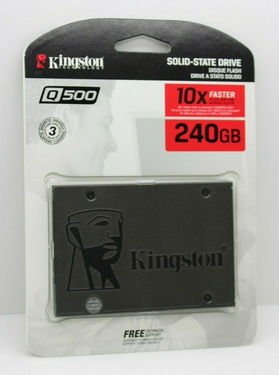Kingston Q500 240GB SSD 2.5-inch Internal Solid State Drive. Buy it now for 31.99