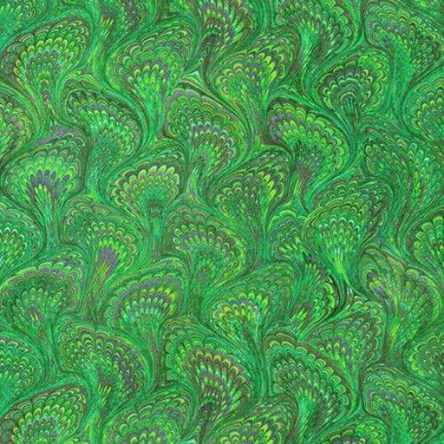 MARBLED BOOK LINING 100/% cotton fabric Robert Kaufmans Library of rarities