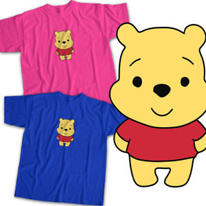 Winnie the Pooh Bear Disney Cuties Kawaii Mens Womens Kids Unisex ... 24e82598fe