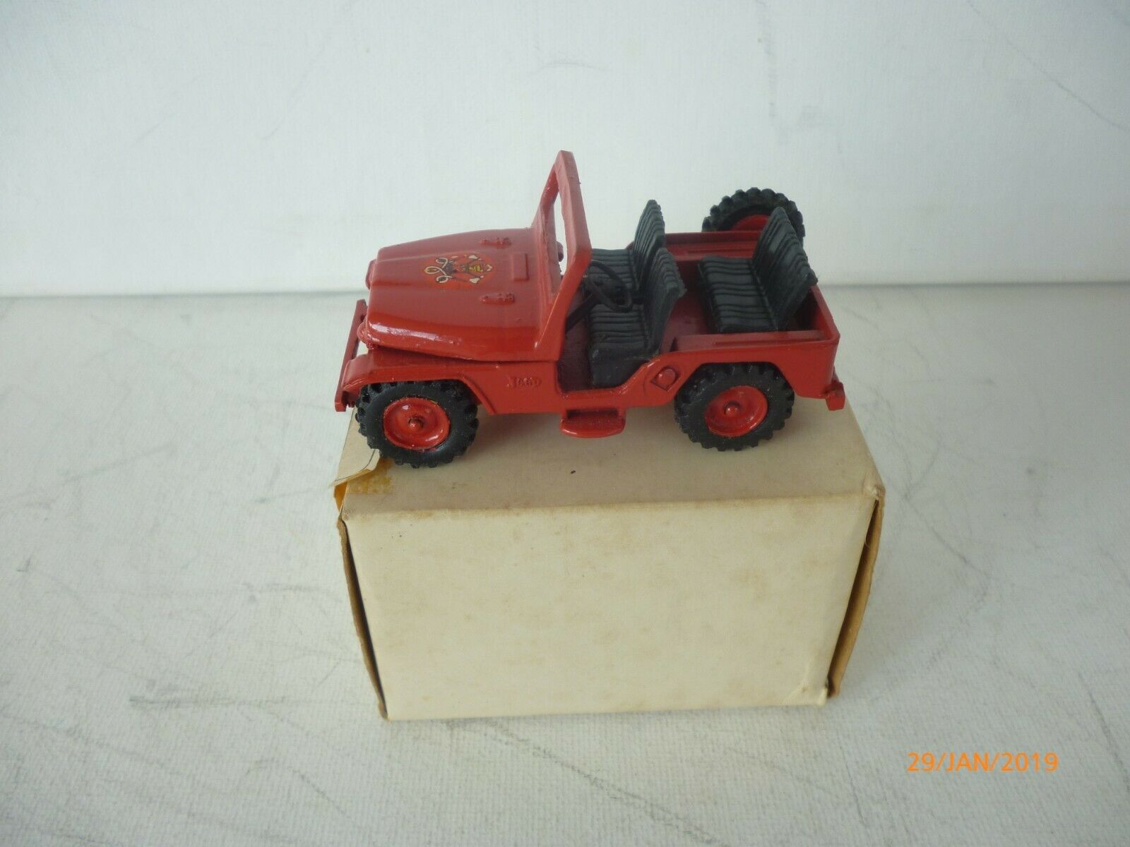 1 43 MINIMAC A1  BRASIL MAKE FORD JEEP  4x4 POWER RARE SELTEN NM BOXED  marque