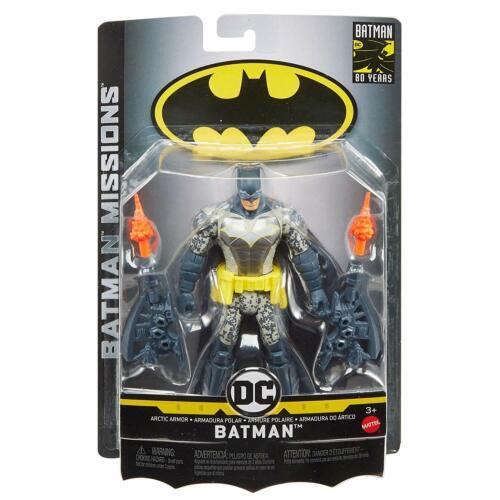 "DC Batman missioni BATMAN ARCTIC Armor 6/"" ACTION FIGURE MATTEL"