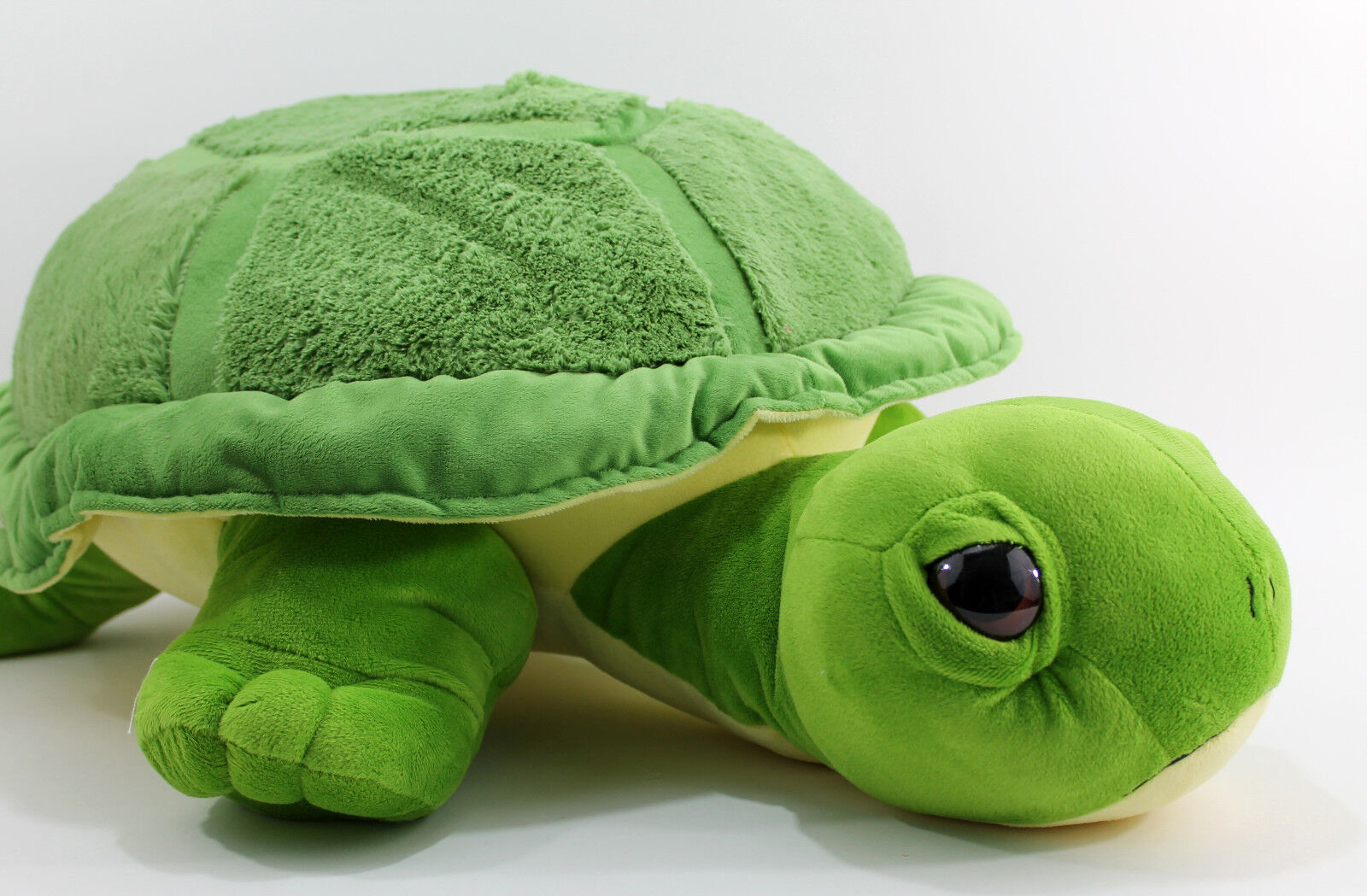 XXL TARTARUGA VERDE Tartaruga di Cuscino Peluche Animale Pupazzo Tartaruga