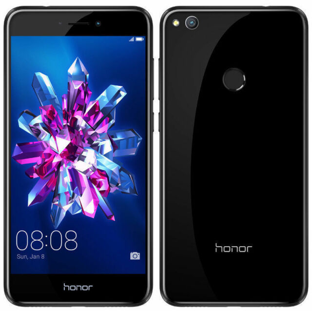 Huawei Honor 8 Lite | 4GB Ram 64 GB ROM | 12+8 MP Camera Finger Print - Black
